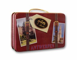 Tin can Antwerp suitcase